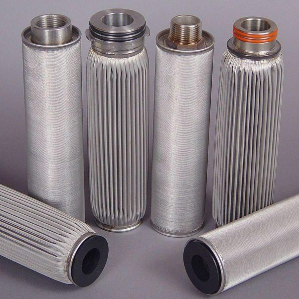 PLEATED SS FILTER CARTRIDGE